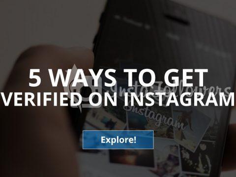 5 Ways to Get Verified on Instagram (Updated – 2019)