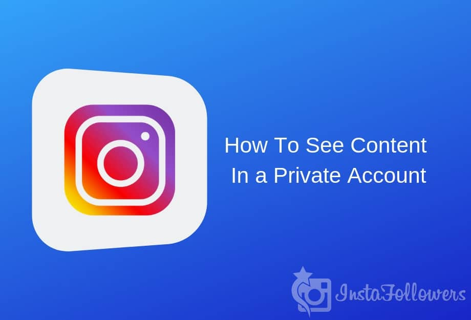 private content on instagram