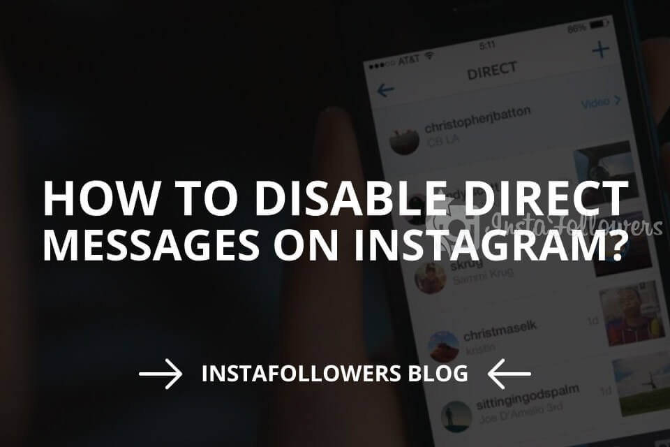How to Disable Direct Messages on Instagram? (2020)