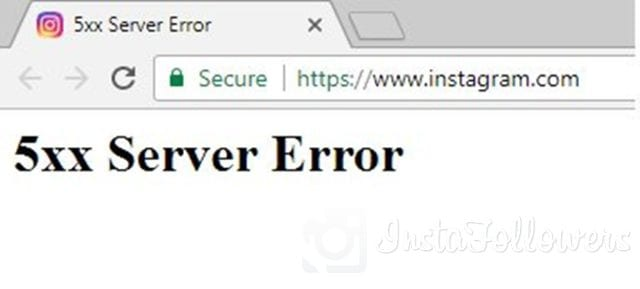 Instagram 5xx Server Error