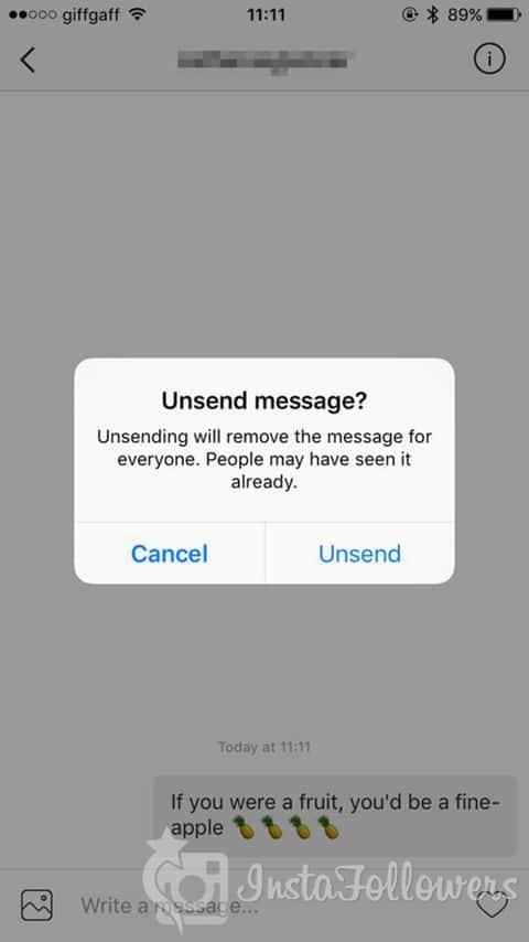 Instagram Direct Messages