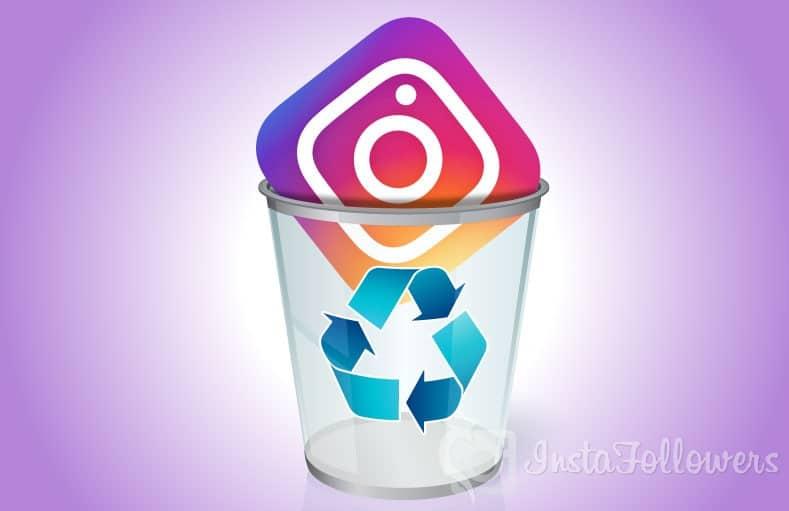 delete Instagram searches