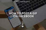 How to Post a GIF on Facebook?