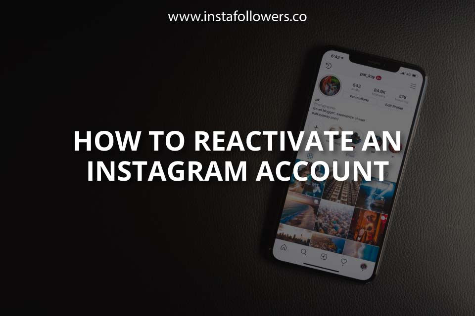 How to Reactivate an Instagram Account (Guide)
