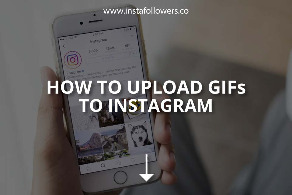How to Upload GIFs to Instagram (2021)