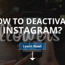 How to Deactivate Instagram?