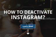 How to Deactivate Instagram?