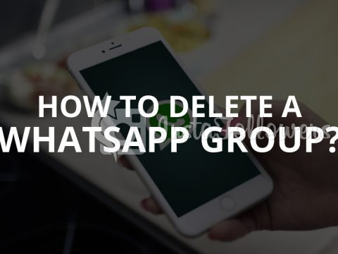 How to Delete a WhatsApp Group