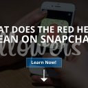 What Does The Red Heart Mean on Snapchat?