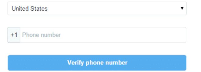 how to verify phone on twitter