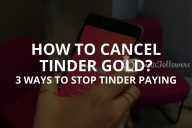 How to Cancel Tinder Gold: 3 Actual Ways