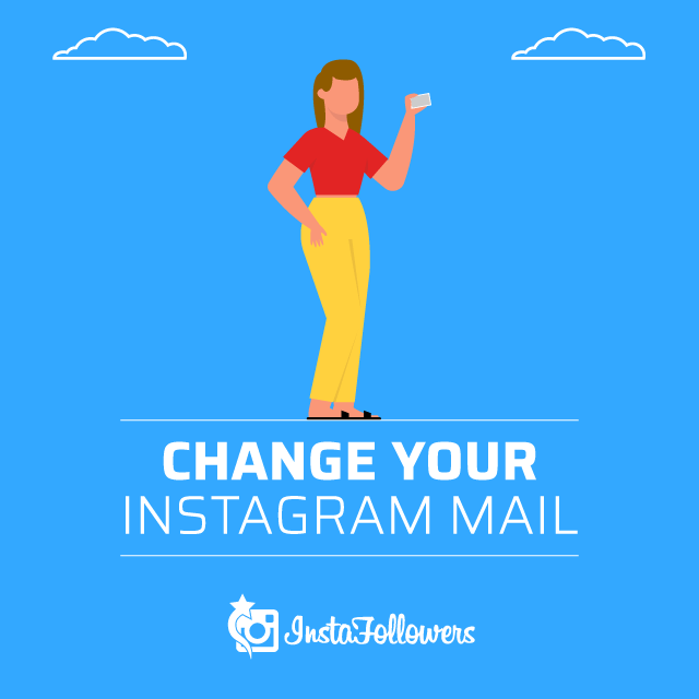 change your Instagram mail