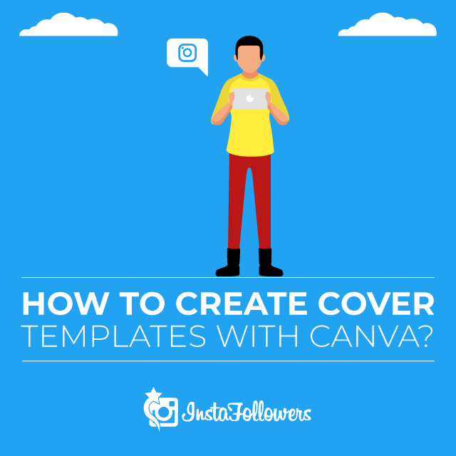 how to create Instagram Highlights cover templates with Canva