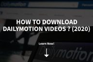 How to Download Dailymotion Videos (2020)
