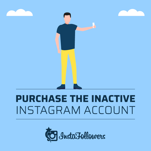 Purchase the Inactive Instagram Account