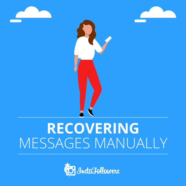 Recovering Messages Manually