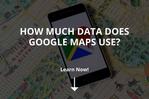 How Much Data Does Google Maps Use?