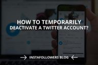 How to Temporarily Deactivate a Twitter Account?
