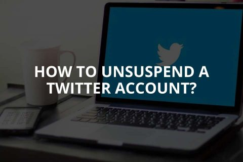 How to Unsuspend a Twitter Account?