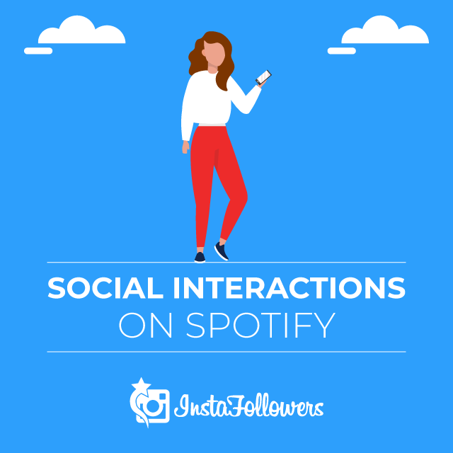 Social Interactions on Spotify