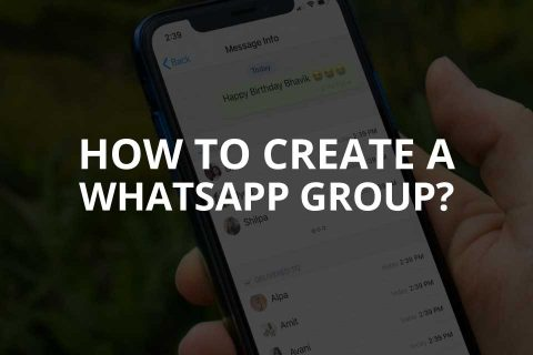 How to Create a WhatsApp Group?