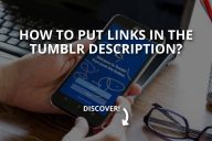 How to Put Links in the Tumblr Description?