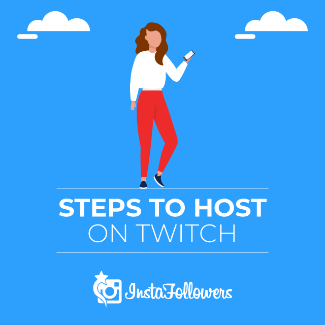 Steps to Host on Twitch