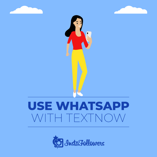 Use WhatsApp with Textnow