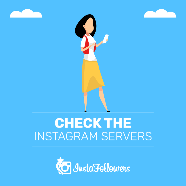 Check the Instagram Servers