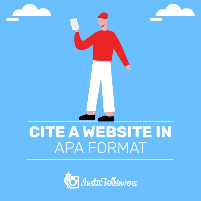 Cite a Website in APA