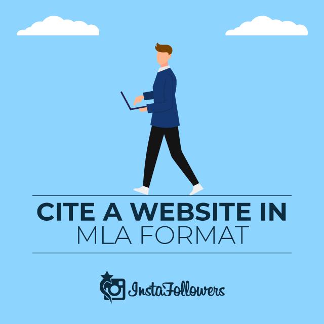 Cite a Website in MLA
