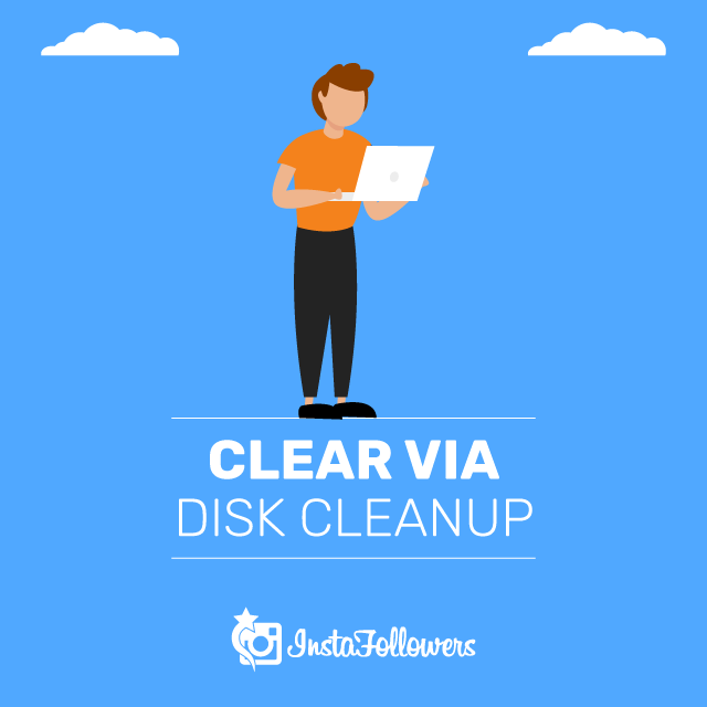 Clear Cache via Disk Cleanup