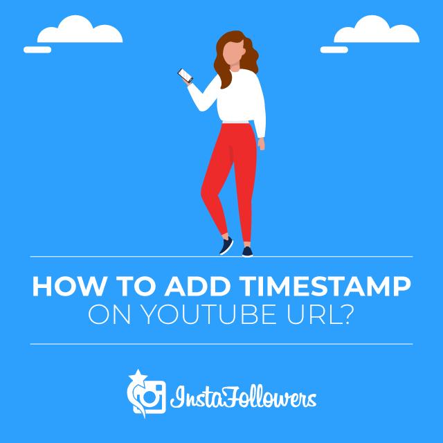 Add Timestamp on YouTube URL