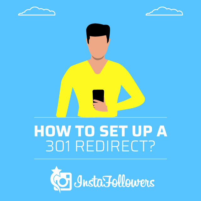 how to set up a 301 redirect