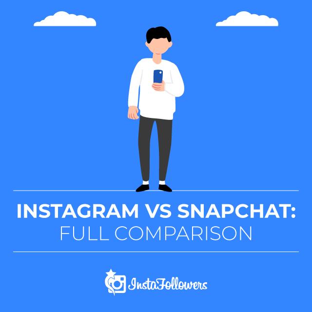 Instagram vs Snapchat Comparision