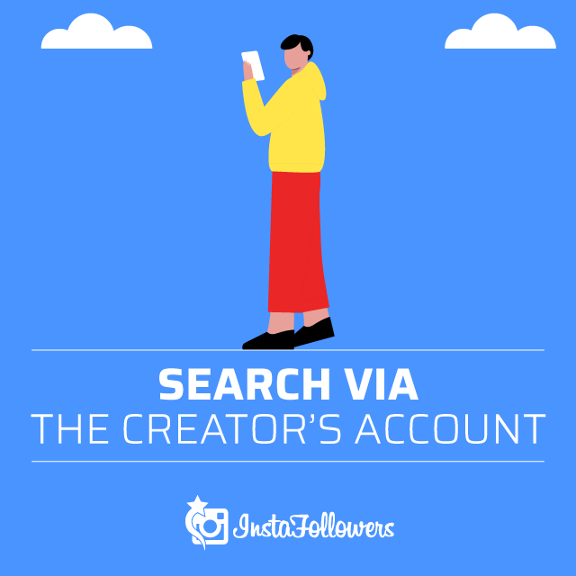 Searching Filters Via Creator's Account