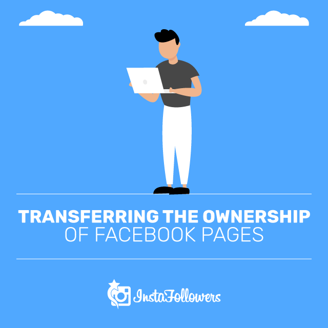 How to transfer a facebook page to someone else