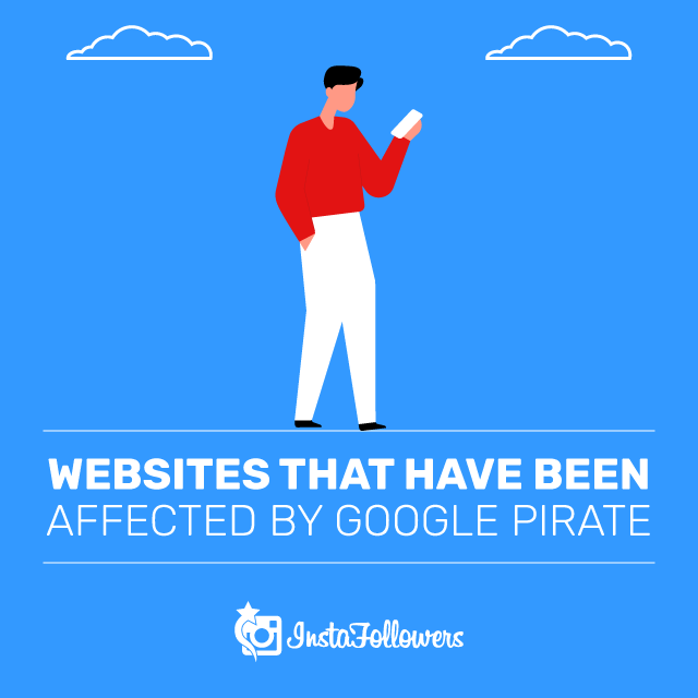 Websites That Are Affected by Google Pirate
