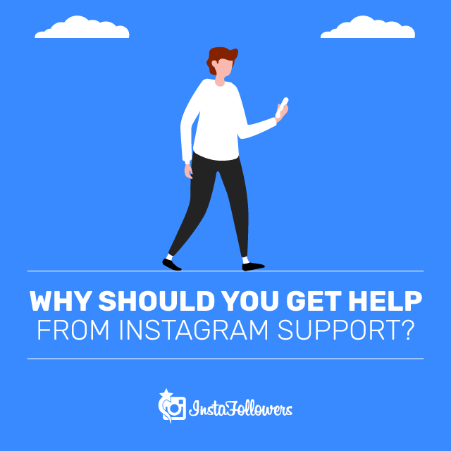 getting help from Instagram support