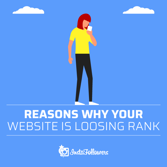 Reasons Why Your Website Is Losing Rank