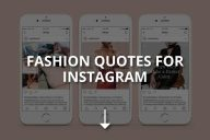 Fashion Quotes for Instagram (Shopping & Dressing)
