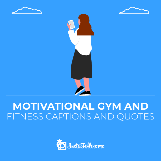 Motivational Gym and Fitness Captions and Quotes
