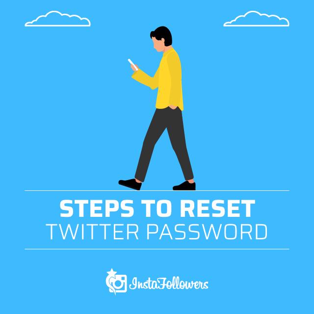 Steps to Reset Twitter Password