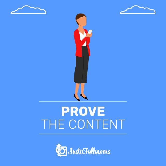 Prove the Content