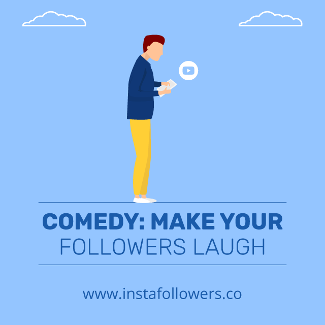 comedy make your followers laugh