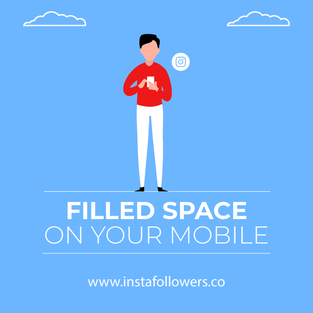 Filled Space on Your Mobile