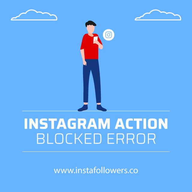 instagram action blocked error