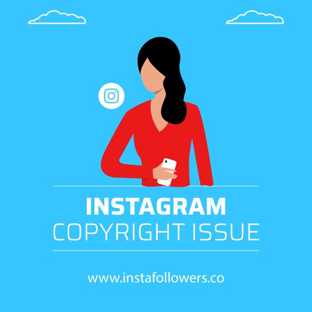 instagram copyright issue
