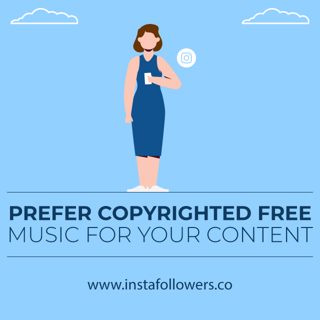 prefer copyrighted free music for your content