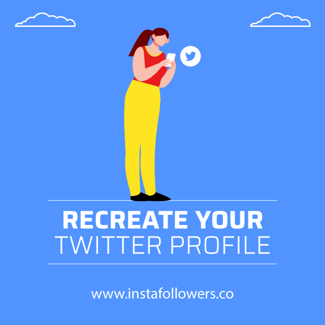 recreate your twitter profile